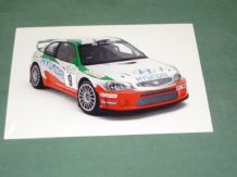 "HYUNDAI ACCENT EVO2 WRC 2001 original press photo 7x5"" (A)"